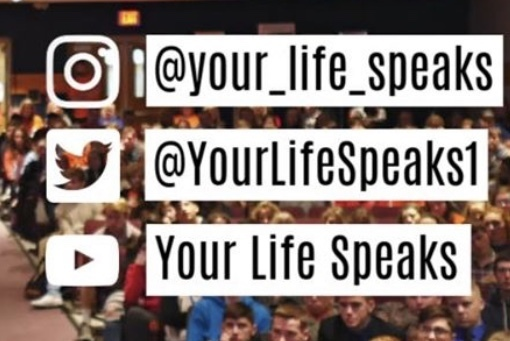 Your Life Speaks social media.