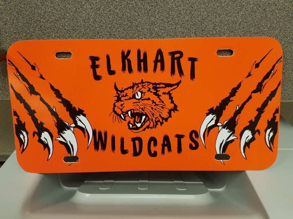 Wildcat License Plate