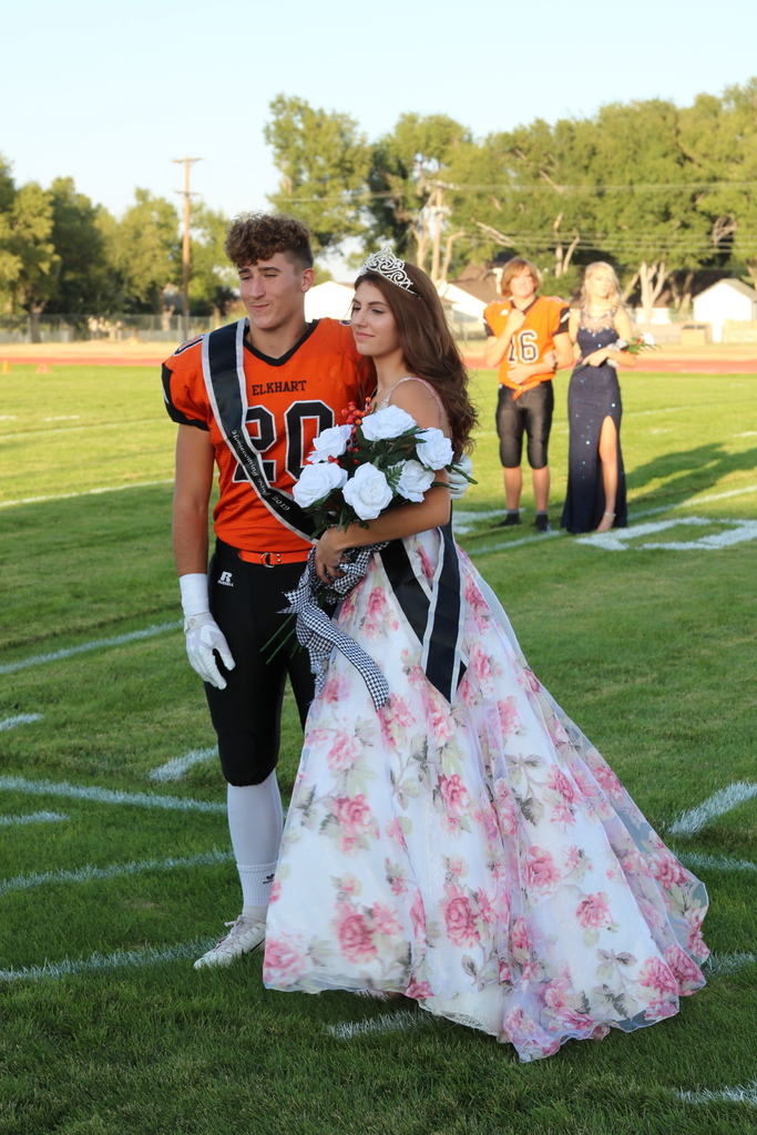 King Chace and Queen Kira Football Homecoming 2019