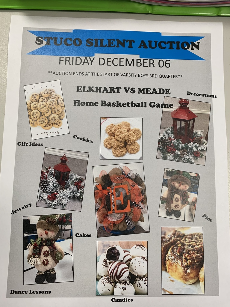 EHS Stuco Silent Auction