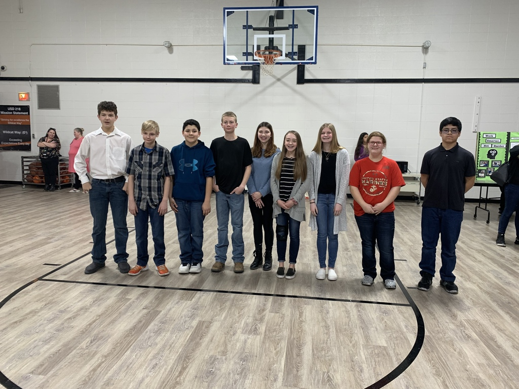 8th grade Science Fair Winners