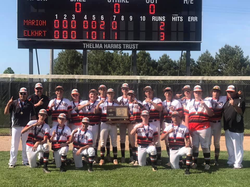 EHS Wildcat Baseball State Champs 2019